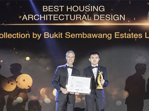 Garden-Inspired Nim Collection Wins Best Housing Architectural Design Award 2018