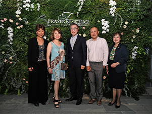 Fraser Residence Orchard, Singapore celebrates its grand opening in prime district 9
