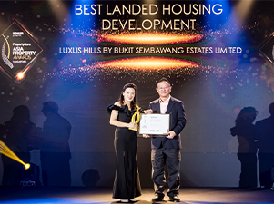 Project Focus: Luxus Hills (Signature Collection) By Bukit Sembawang Estates Limited