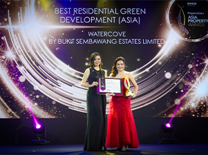 Bukit Sembawang Estates' Watercove Crowned As Asia's Best Residential Green Development
