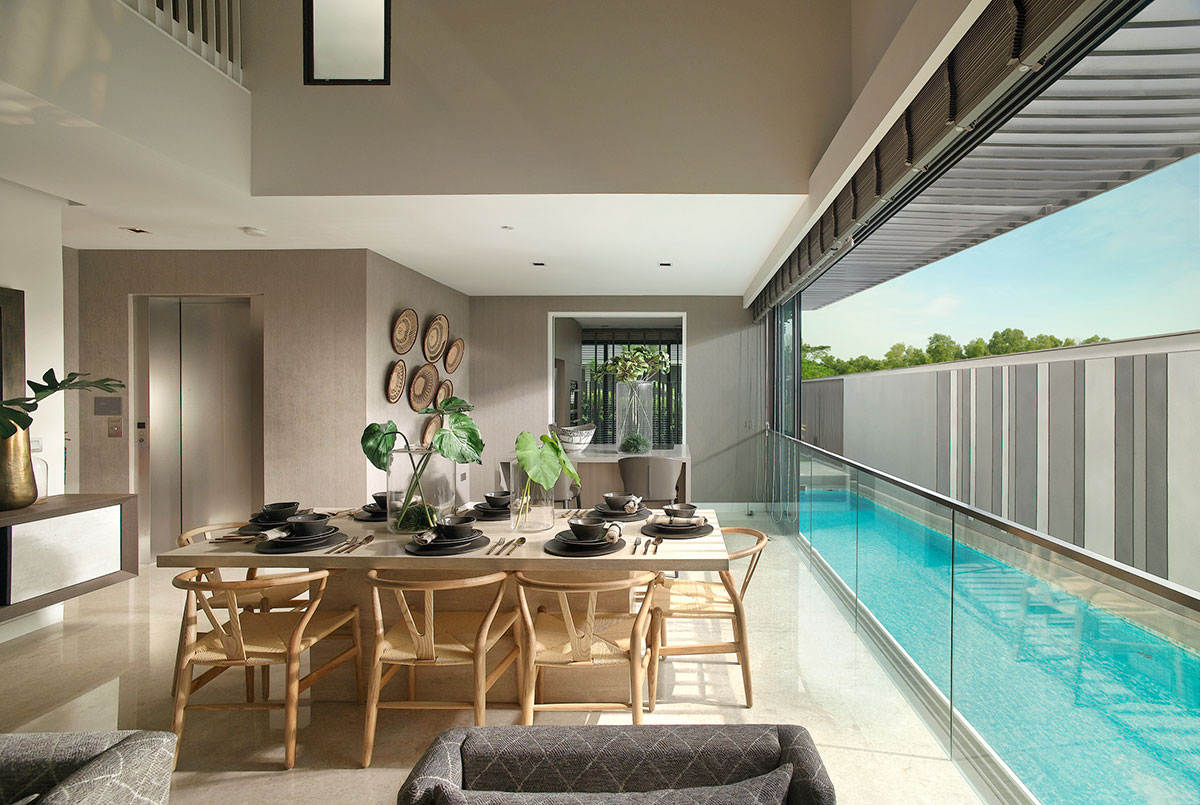 Nim Collection - Beautifully spacious, light-filled homes, some with private pool.